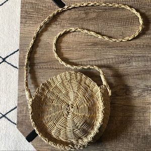 Urban Outfitters Straw Crossbody Bag